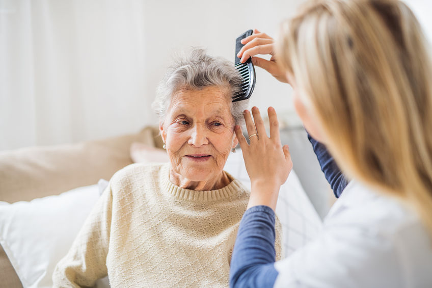 elderly personal care